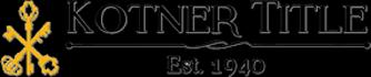 Harrisburg, Marion, Herrin, IL   Kotner Title